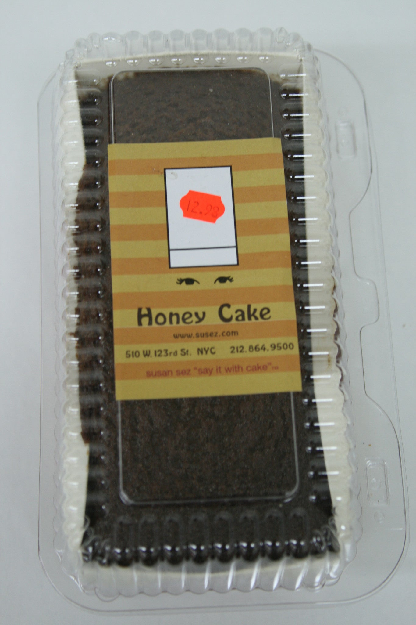 Susan Sez Honey Cake