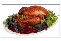 BBQ Turkey, whole: $12.98/lb