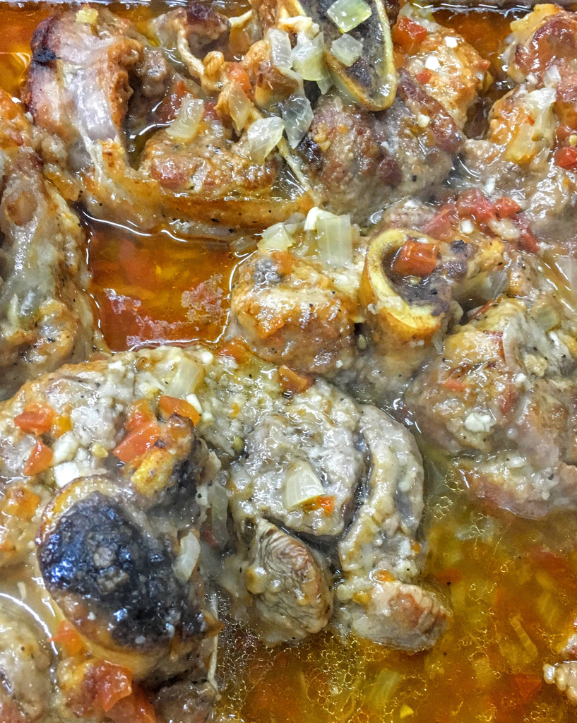 Kosher Braised Osso Buco