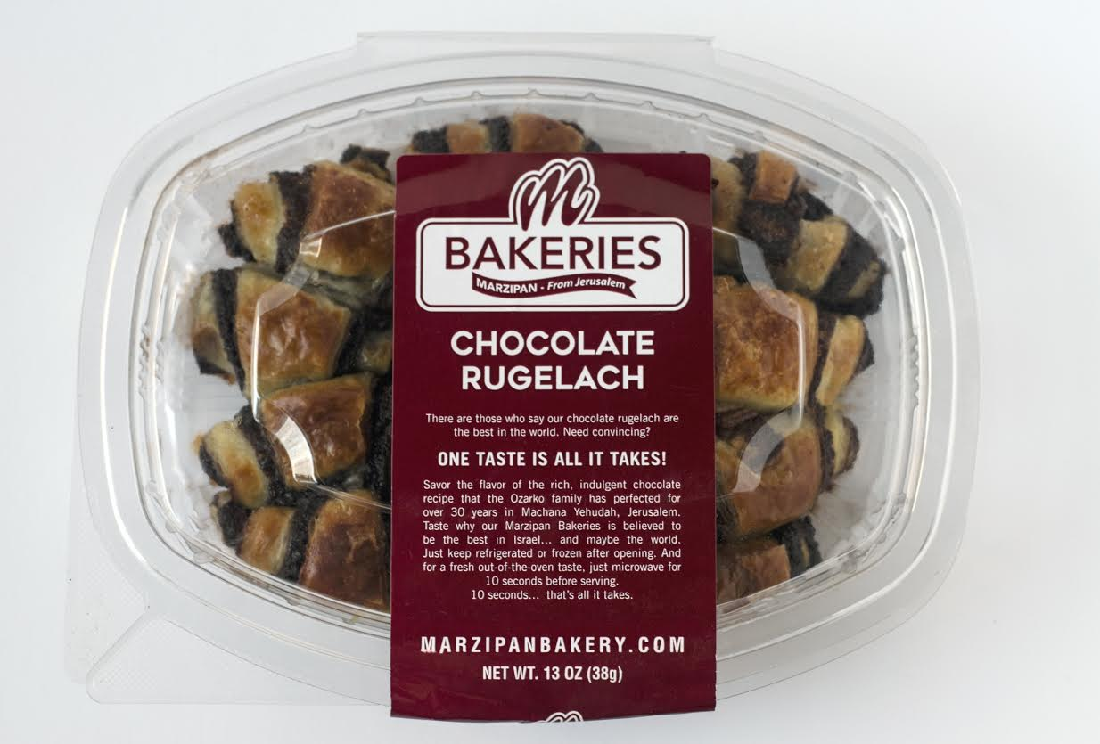 Marzipan Bakery Chocolate Rugelach