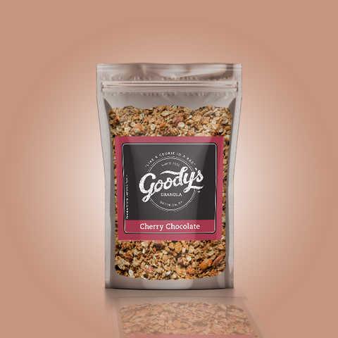 Cherry Chocolate Soft Granola Share Size Bundle (4 x 4oz Bags)