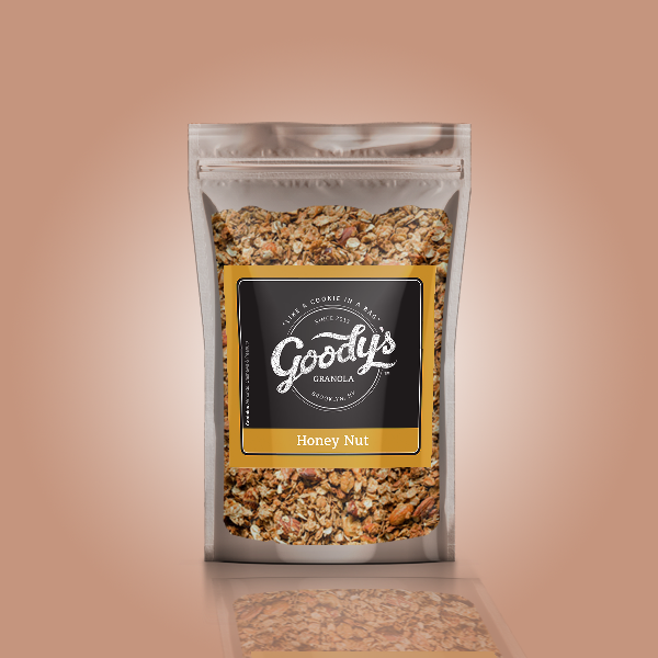 Honey Nut Soft Granola Share Size Bundle (4 x 4oz Bags)
