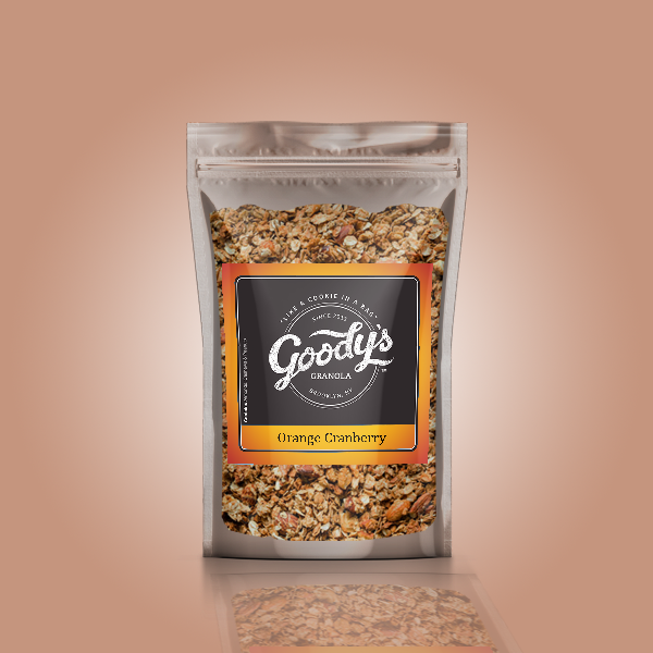 Orange Cranberry Soft Granola Share Size Bundle (4 x 4oz Bags)