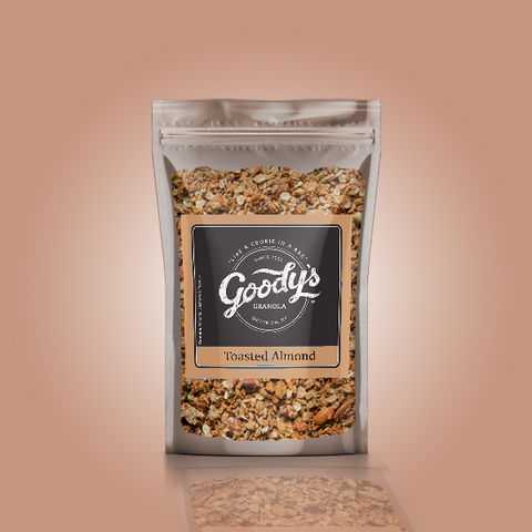 Toasted Almond Soft Granola Share Size Bundle (4 x 4oz Bags)