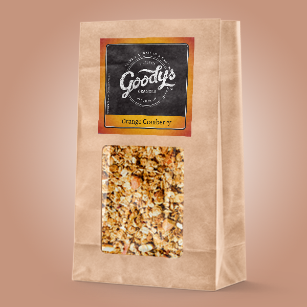 Orange Cranberry Soft Granola - Bulk Bag