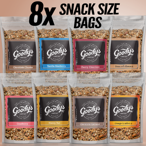 Soft Granola Variety Pack (8 x 2oz Bags)