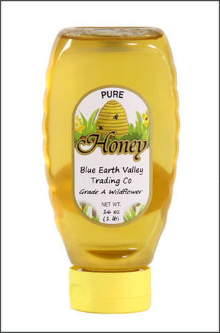 Pure Wildflower Honey- 16 oz.