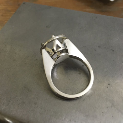 Hand fabricated Ring