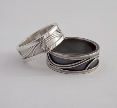 His & Hers Ring Set