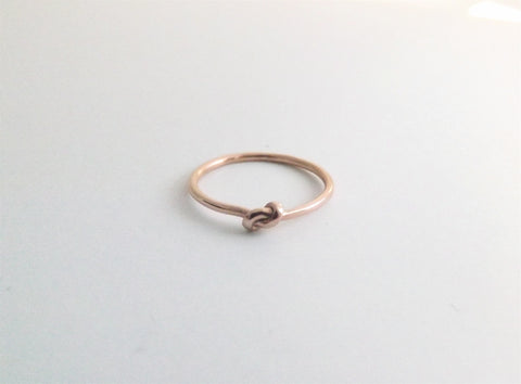 Knot Engagement Ring