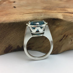 Custom Design Topaz Ring