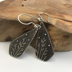Winter Branches Artisan Earrings
