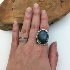 Labradorite Custom Ring