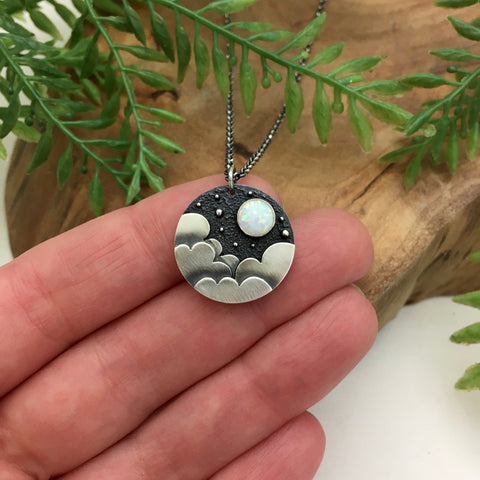 Mini Night Sky Charm Pendant