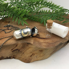 Handmade Locket - Intention, Perfume, Memorial Jewelry