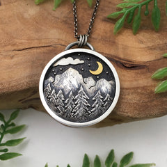 Mountain Landscape Jewelry