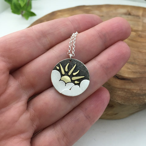 Partly Sunny Pendant
