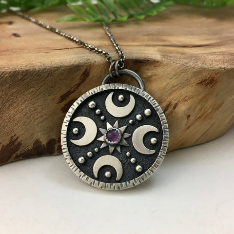 *Reserved - Celestial Mandala with Amethyst
