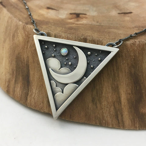Silver Moonlight Necklace