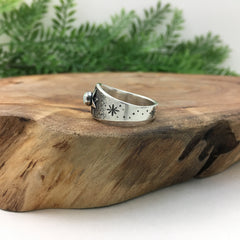 Alternative Handmade Wedding Band