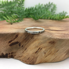 Simple Silver Thin Band