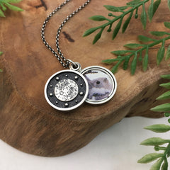 Sun & Moon Locket Pendant
