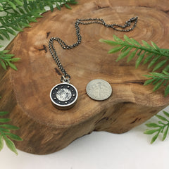 Mini Locket Handmade in Sterling Silver by Kelly Limberg