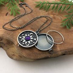Handmade Photo Locket by Kelly Limberg