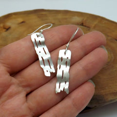 Birch Strip Earrings