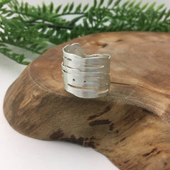 Silver Wrapping Ring