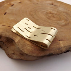 Brass Bark Money Holder