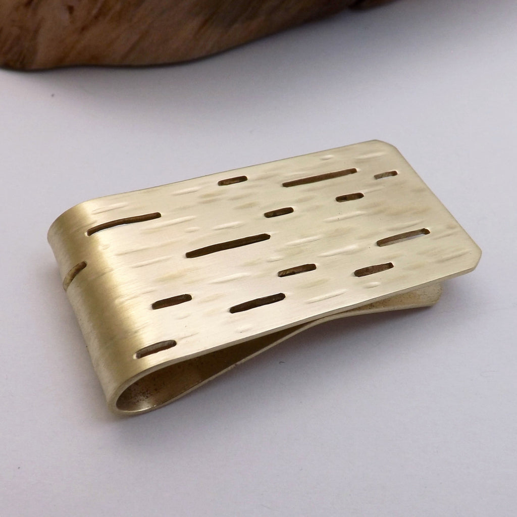Birch Bark Money Clip