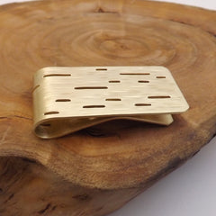 Handmade Brass Money Clip
