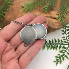 Artisan Locket Antiqued Sterling Silver