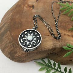 Celestial Mandala Locket by Kelly Limberg