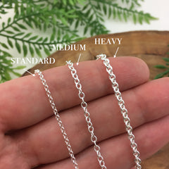 *Add On - Upgrade to Heavy Silver Chain
