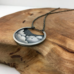 Clouds & Stars Necklace