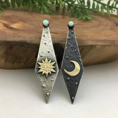 Day & Night Earrings