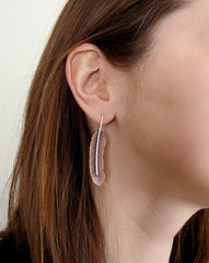 Artisan Feather Earrings - On