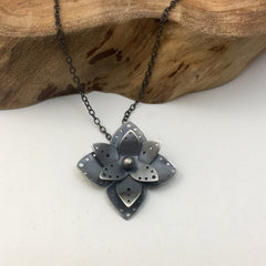 Handcrafted Flower Necklace
