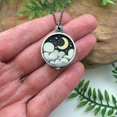 Celestial Locket Handmade