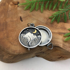 Mountain Jewelry Locket