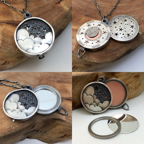 Night Sky & Stars Locket