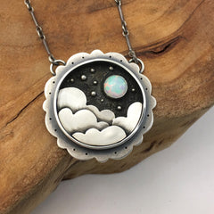 Night Sky Clouds & Opal