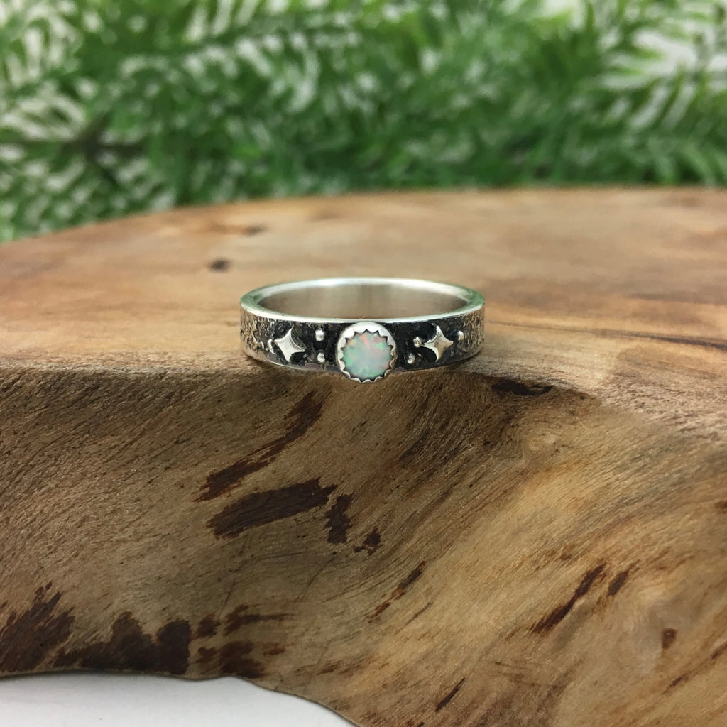 Celestial Wedding Band by Kelly Limberg