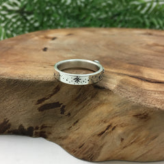 Artisan Design Silver Star Ring By Kelly Limberg