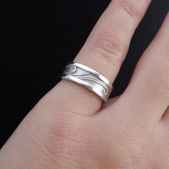 Ornate Promise Rings/ Handcrafted Wedding Bands