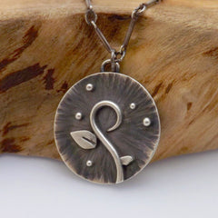Spring Silver Charm Detail