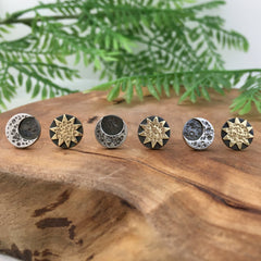 Handmade Sun & Moon Jewelry