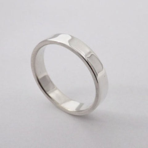 Simple Silver Promise Ring